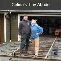 Celina's tiny abode
