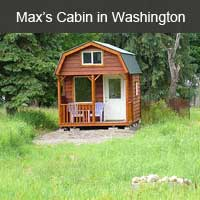 Max's Cabin in Washington
