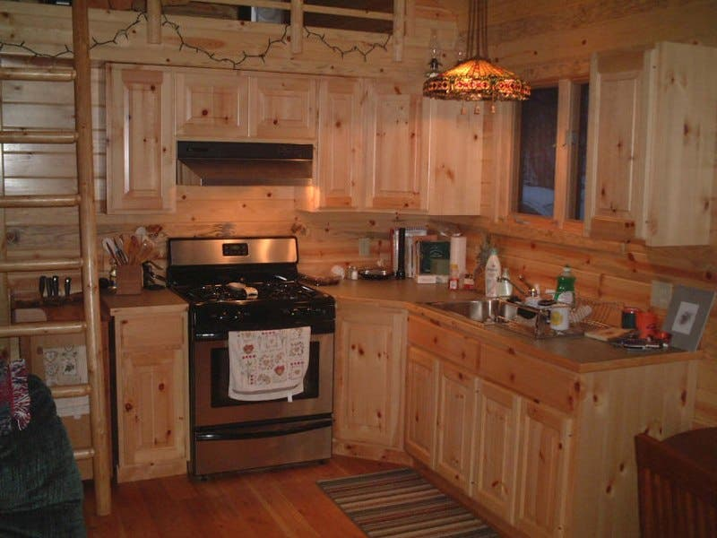 Sherpa cabins for Small cabin kitchen designs