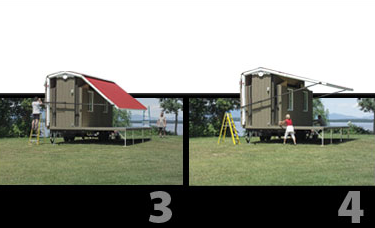 Habitaflex - Foldable Tiny House