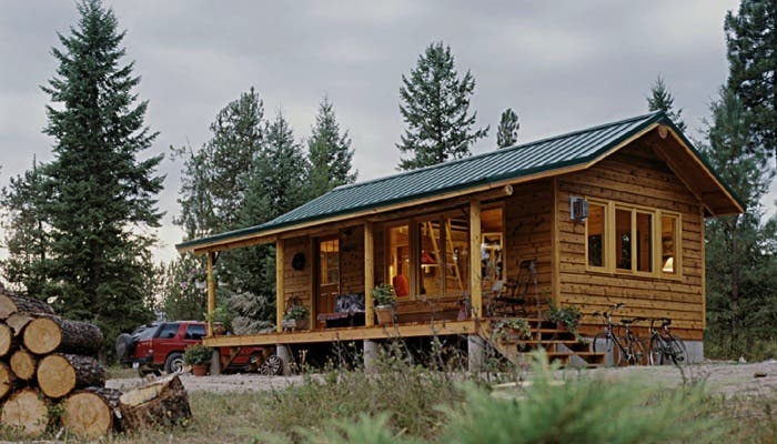 Charmant Sherpa Cabins In Thomson Falls, MT Is A Tiny House Worth Looking Into.  According To Kris Anderson The Owner And Builder Of These Fine Little Cabins  Quality ...