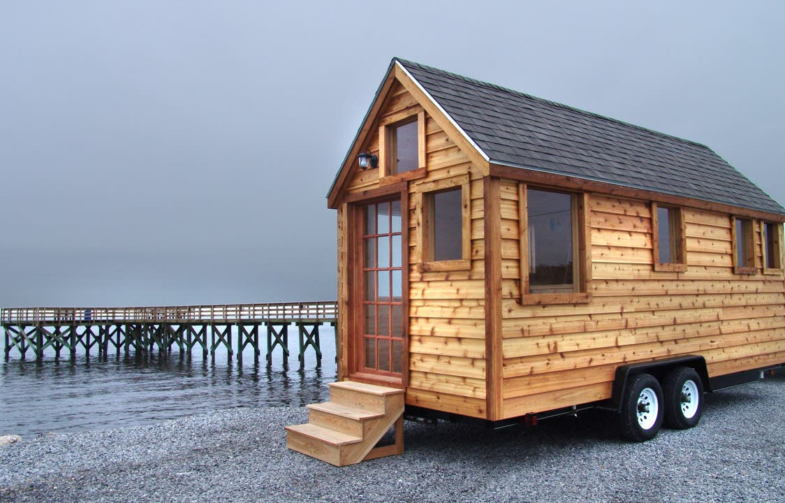 Martin house to go for Micro homes on wheels