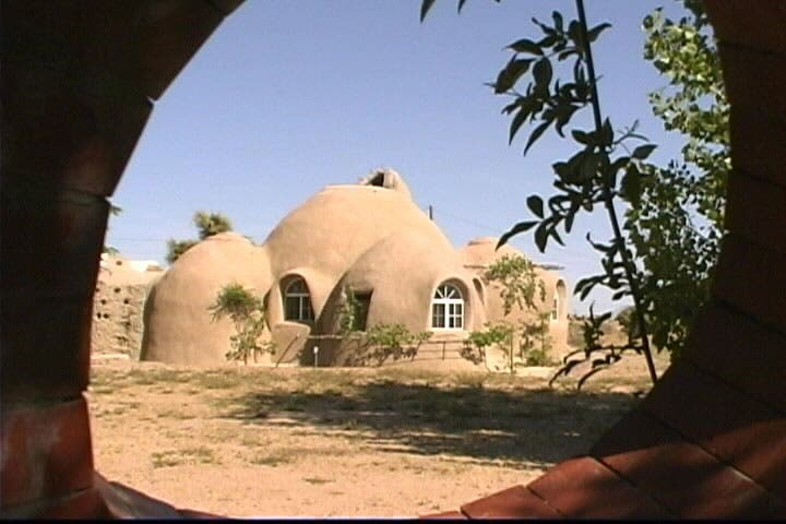 Eco dome for Adobe home builders california