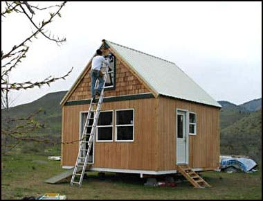 """ or ""Building a small, functional cabin for full time living"