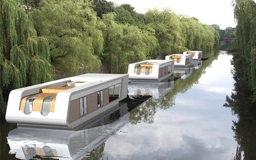 Tiny Floating Homes