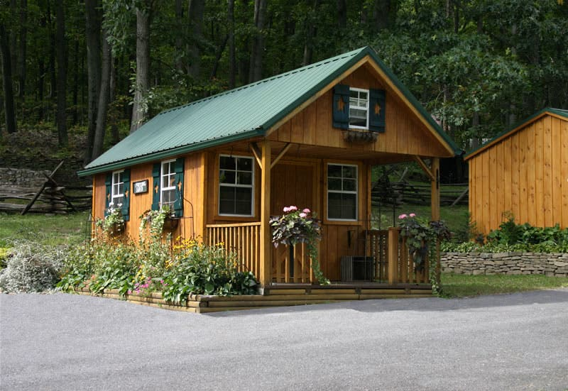 Shawnee structures cabins Small homes and cabins