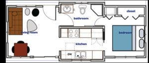 Floor plan | shipping container house | Pinterest