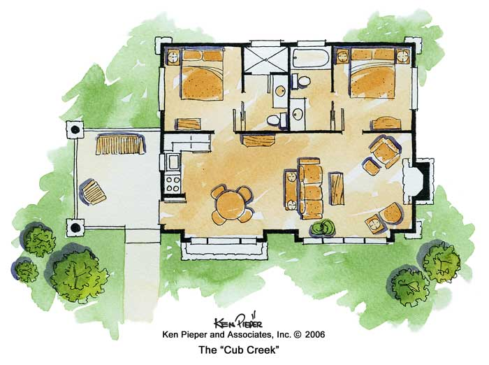 Rustic Mountain Plans | House Plans by Garrell Associates, Inc