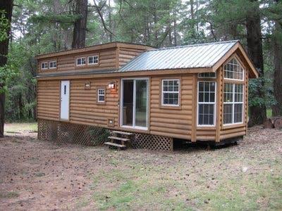 Park Model Log Cabin for Sale