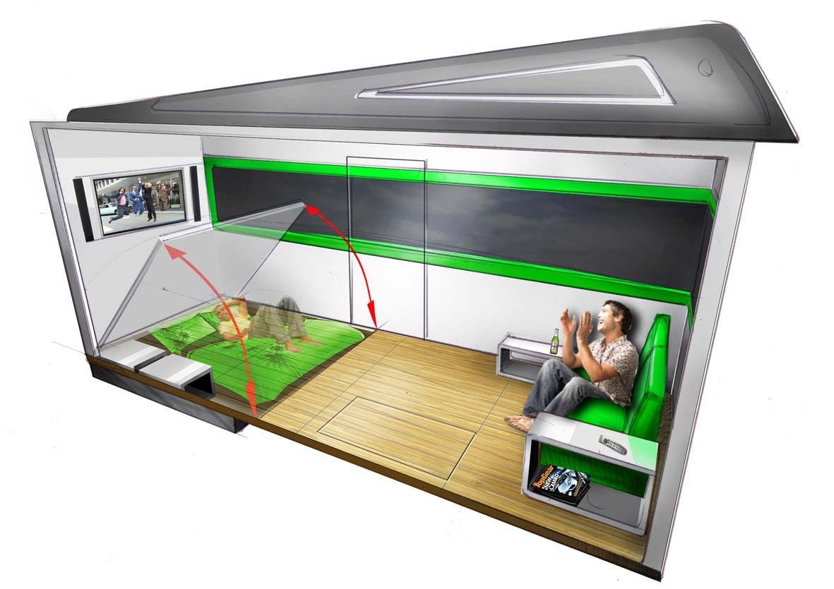 Interior Bedroom Living Smaller