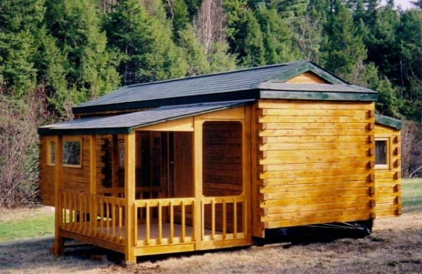 Natural log rv 39 s for Rv log cabins