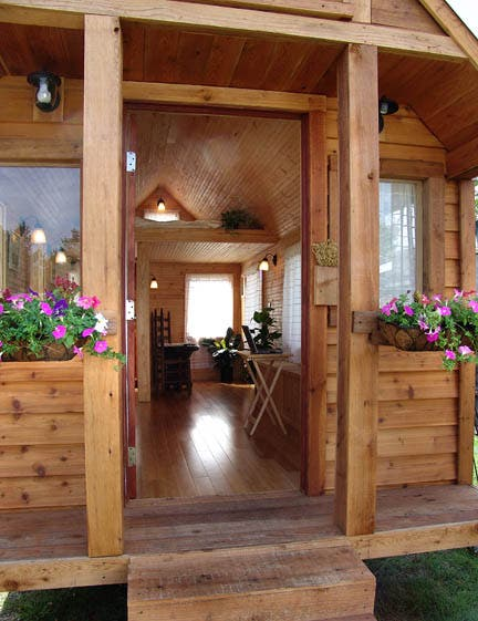 30 Built It Yourself Log Cabin Plans I Absolutely Like: Martin House-To-Go