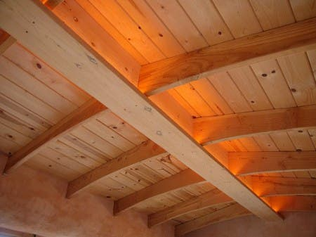 Straw Bale And Timber Frame