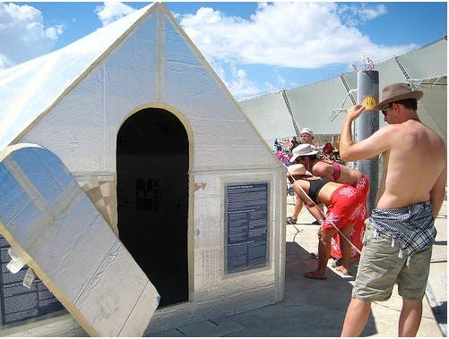 Heat Reflective Tape >> The Hexayurt - Tiny House Blog