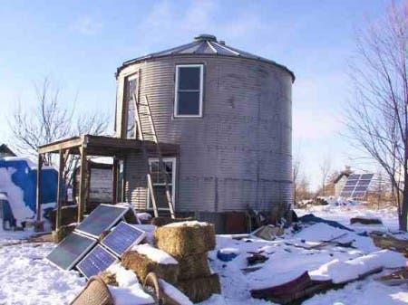Grain Bin House