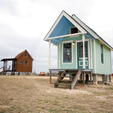 Not everything is bigger in texas for Small house design texas