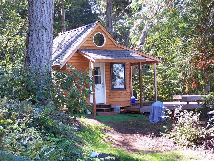 "Introducing ""The Hermit"" Plans - Tiny House Blog - Living Simply"