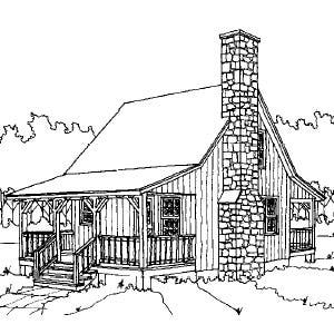 Sheldon designs sale Cabin drawings