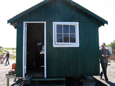 Front of Shack Restoration