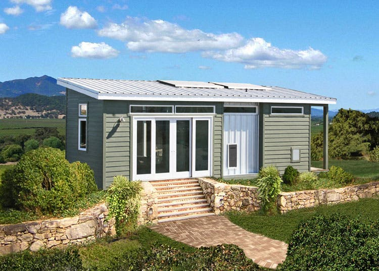 Off grid solar cavco park model for Off grid homes plans