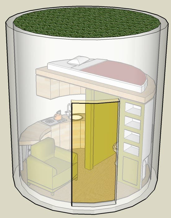 1000 images about micro homes and what 39 s inside on Circle house plans