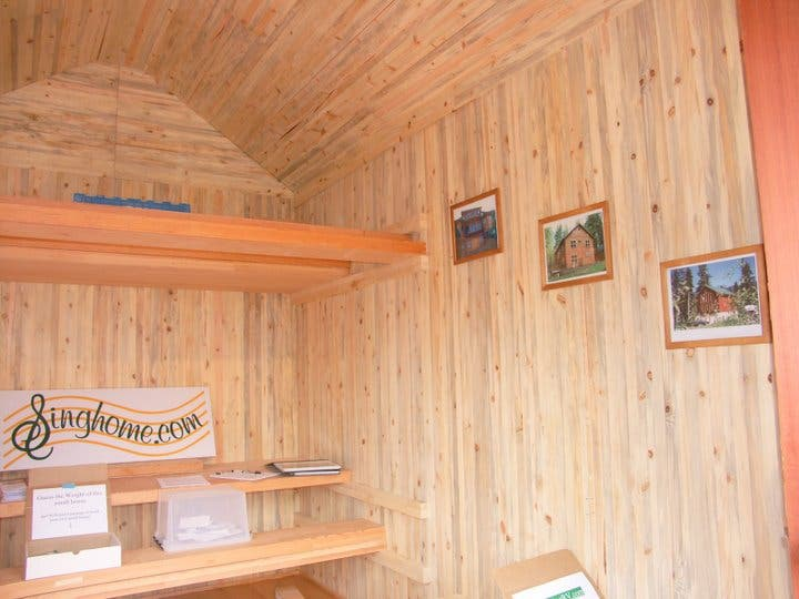 Sing RV Interior View