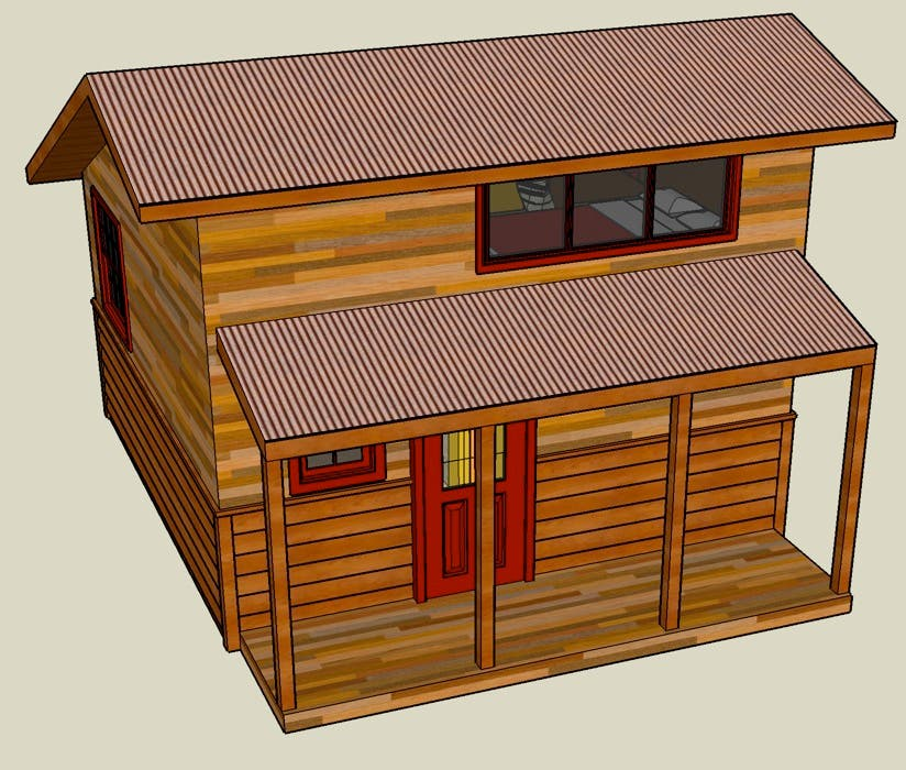 Impressive SketchUp Tiny House Plans 824 x 700 · 196 kB · jpeg