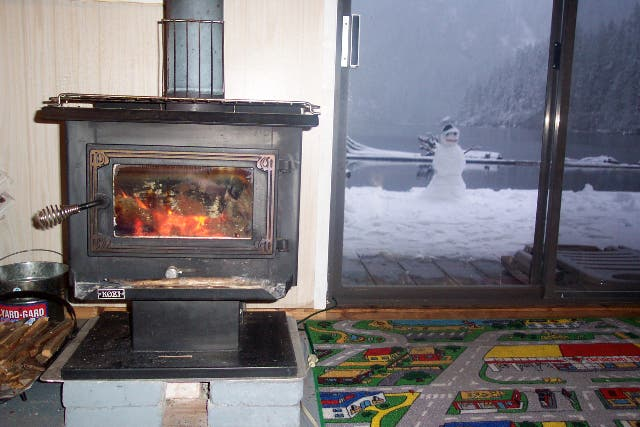 Wood stove tiny house blog - Small space wood stove model ...