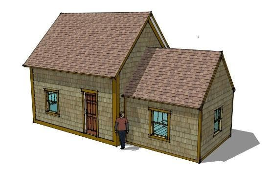 16x20 cabin plan with loft pictures to pin on pinterest for 16x20 cabin floor plans