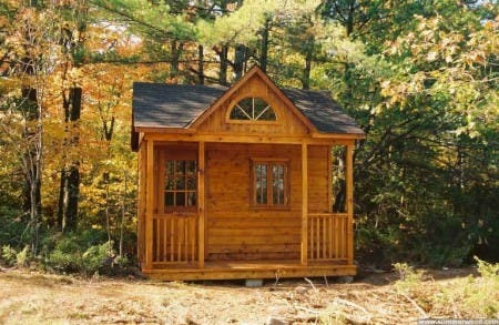Summerwood tiny cabins for 14x14 cabin with loft