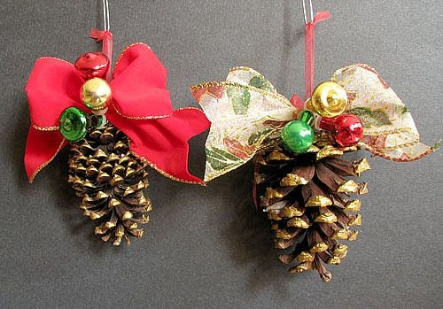 Vintage Christmas Ornaments House of Hatten by OceansideCastle
