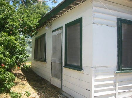 Storage Shed Before Transformation