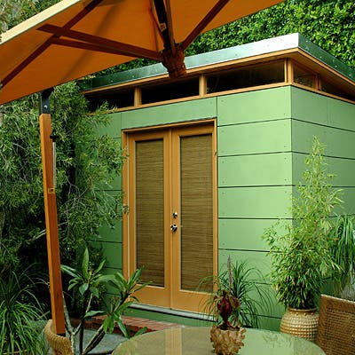 Modern shed for Modern garden shed designs