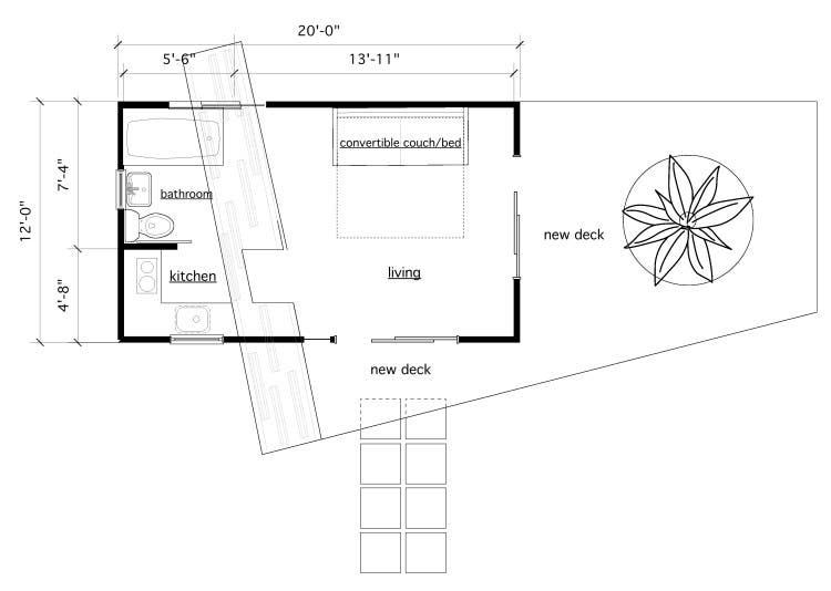 Admirable Free Backyard Guest House Plans Largest Home Design Picture Inspirations Pitcheantrous