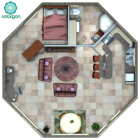 30' Solargon Floorplan