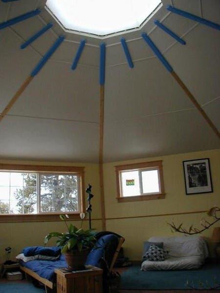 Solargon Yurt Interior