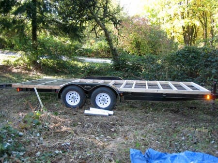Trailer and Floor Framing