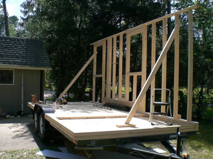 Trailer And Wall Framing