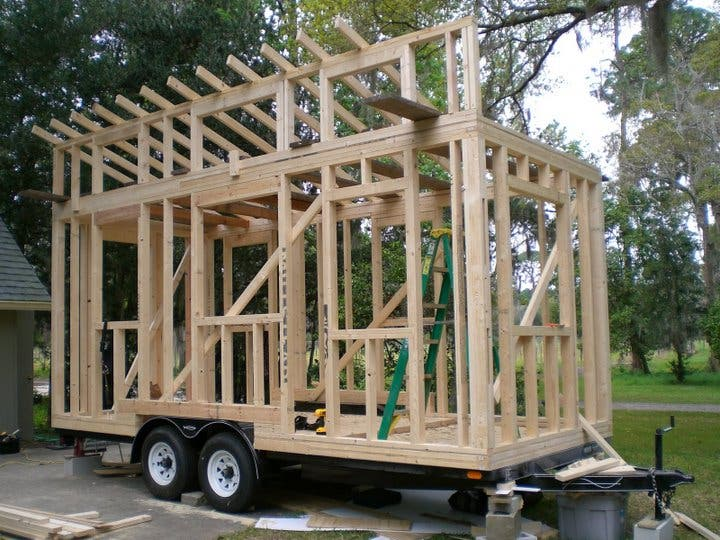 Tiny House Framing - Home Design Ideas