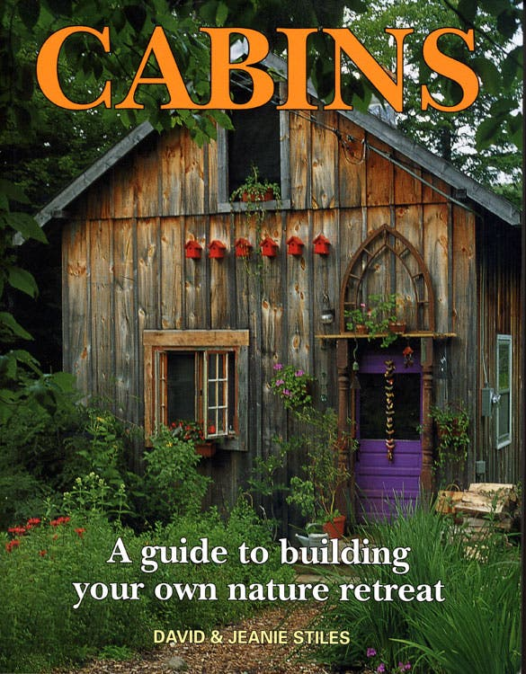 Cabins david jeanie stiles for Log home books