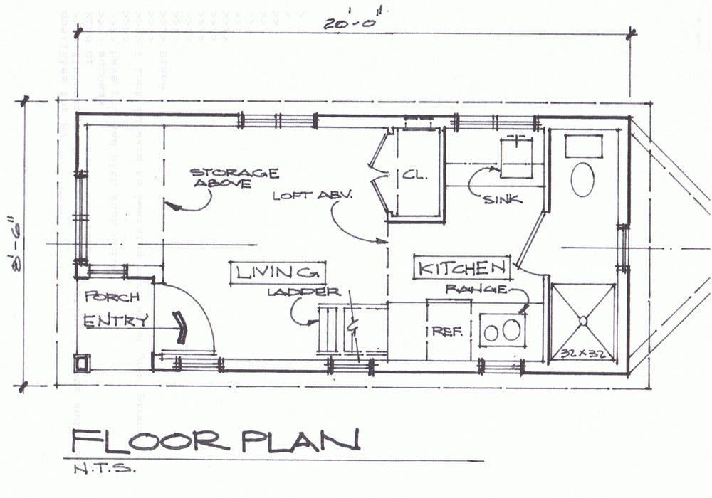 Marvelous Plan 067H 0047 Signature Modern Cottage Plan 800 Sq Ft 2Br By Nir Largest Home Design Picture Inspirations Pitcheantrous
