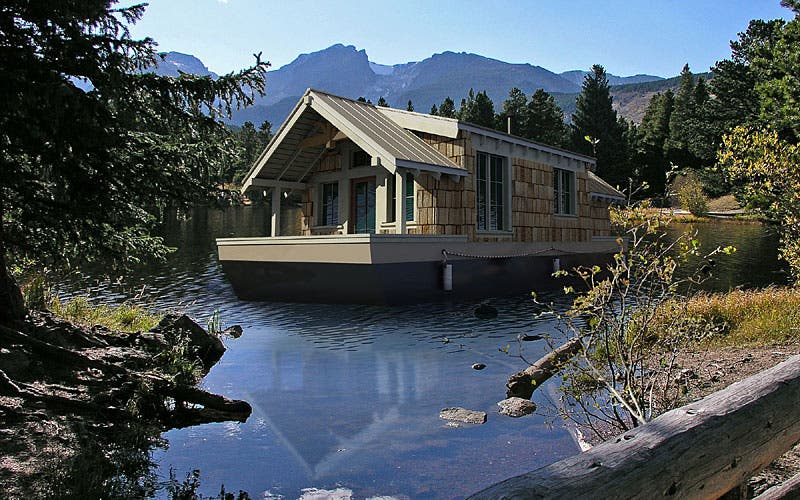 Floating pods for House plans washington state