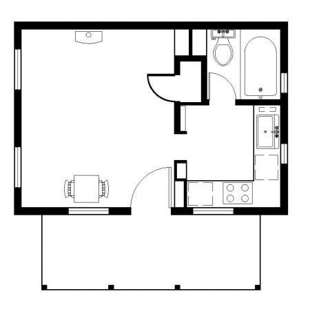 new vessica floor plan