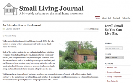 Small Living Journal