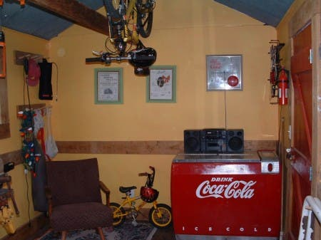 Bike Shop Interior