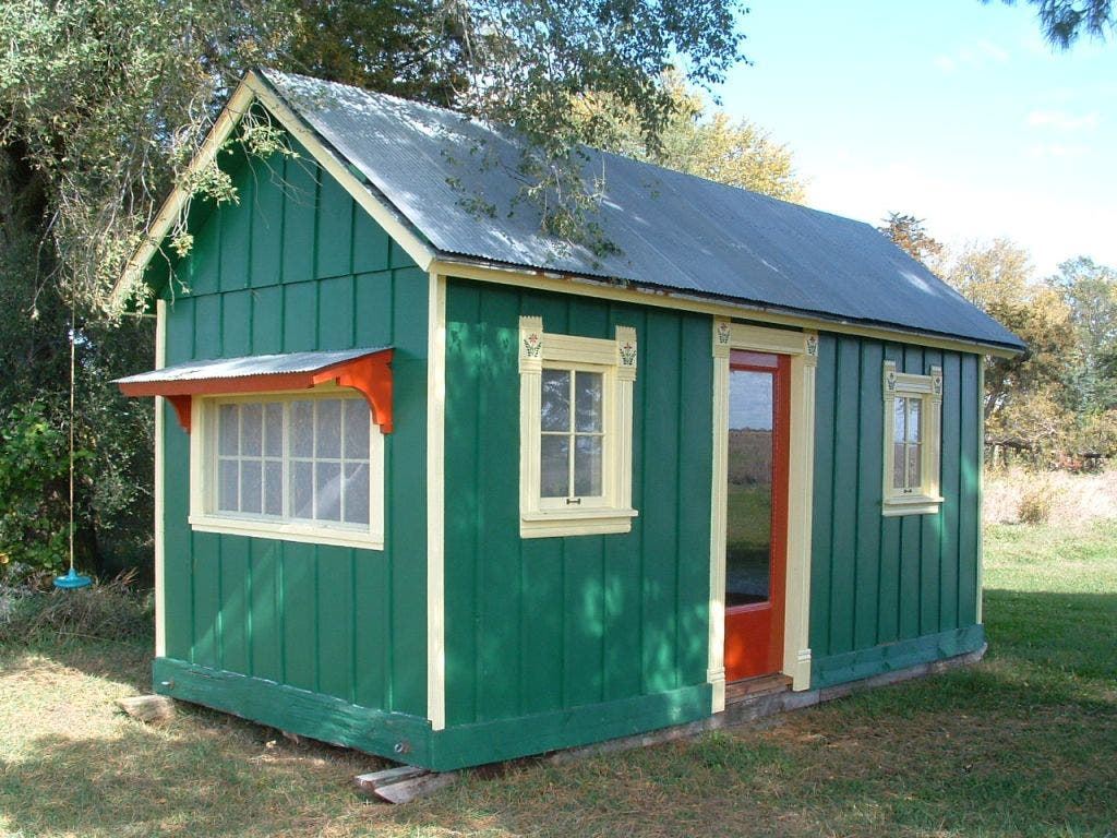 Farm Buildings Into Tiny Houses