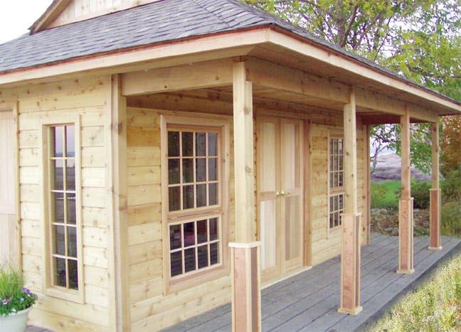 Home ideas cottage bunkie plans for Cottage bunkie plans