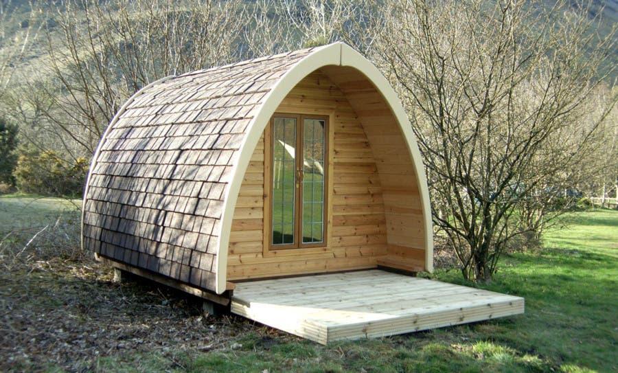 The Pod Camping Hut