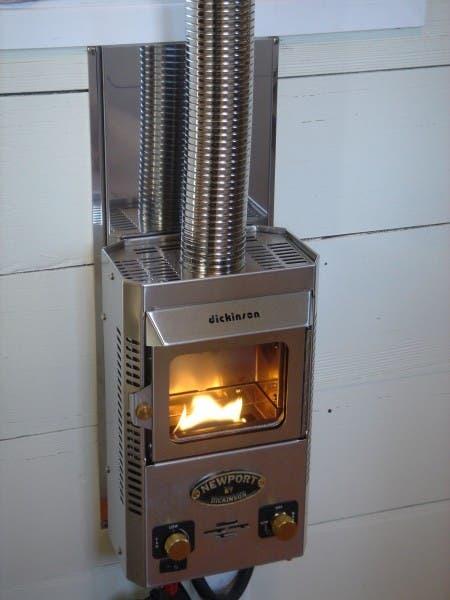 Dickinson Marine fireplace
