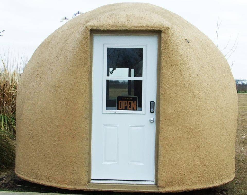 Portable Dome House : Monolithic cabin